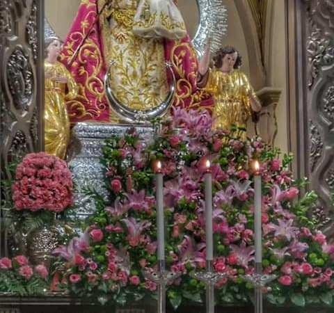 Horario del santuario de Santa María del Collado