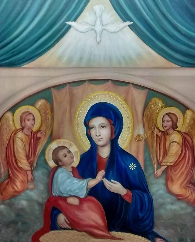 Madonna del Divino Amor. Castel Di Leva - Roma
