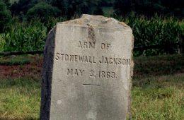 stonewall jackson's arm