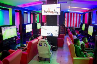 The Score Gaming Lounge in Nairobi, Kenya