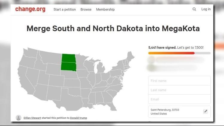 MegaKota Weird Change.org Petitions