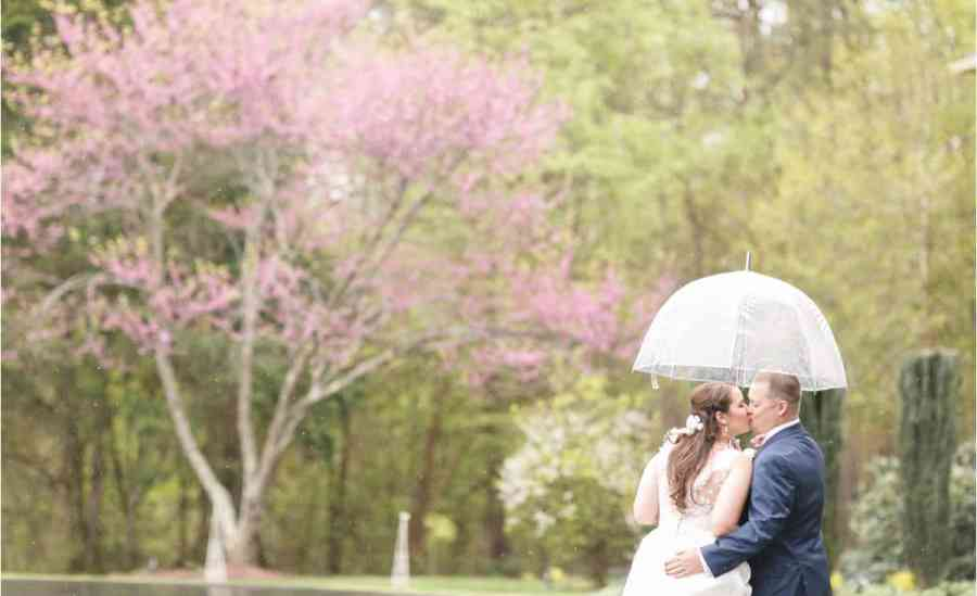 tips for rainy wedding photos