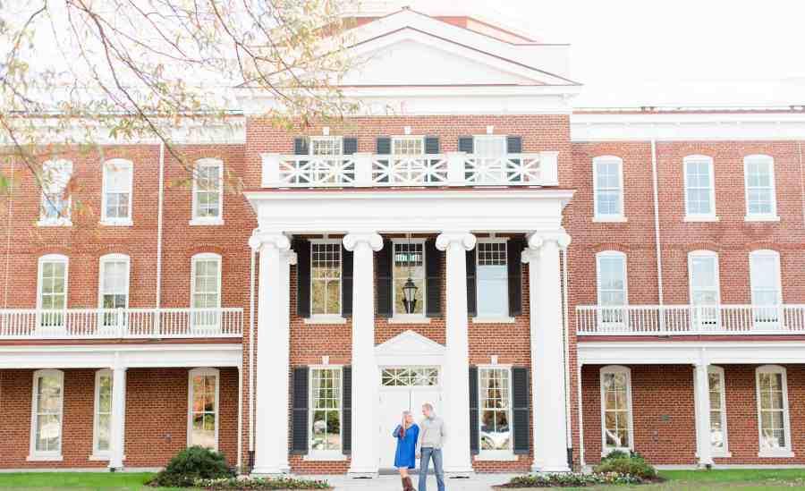 longwood university engagement photos