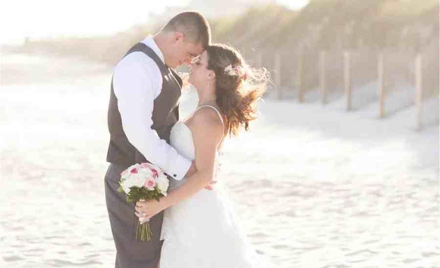 ocean isle beach wedding photos