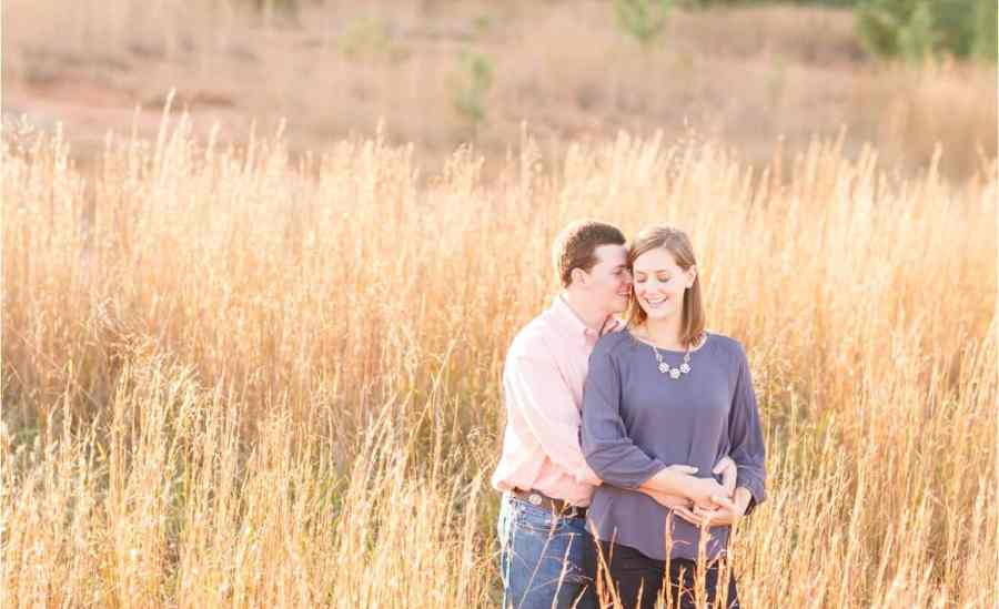farmville virginia engagement photos
