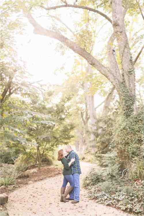 virginia fall engagement photos