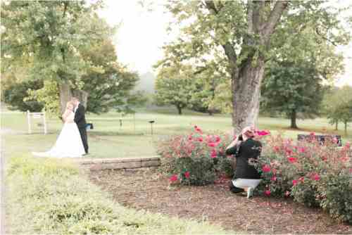 behind the scenes virginia wedding photographer