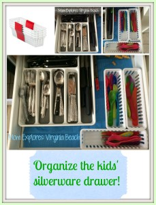 Kid-Friendly Silverware Drawer