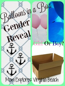 Balloons in a Box Gender Reveal!