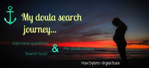 My doula search journey…