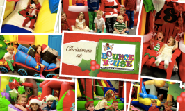 Bounce House Christmas Parties!
