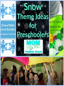 Snow Themed Preschool Activities