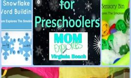 Snow Themed Preschool Activities