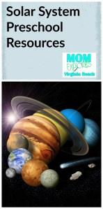 Preschool Topic Resources: Solar System