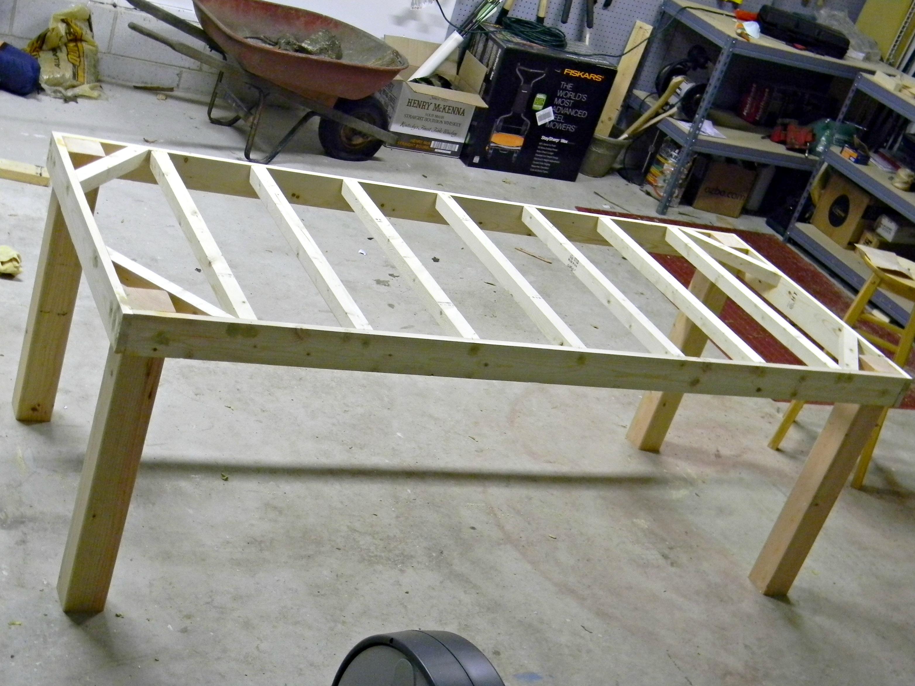 Woodwork Farm Table Plans Drawings PDF Plans