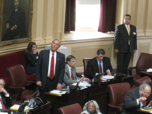 Senators Watkins, Obenshain, and Cuccinelli