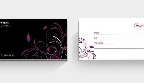 diseño cheque regalo
