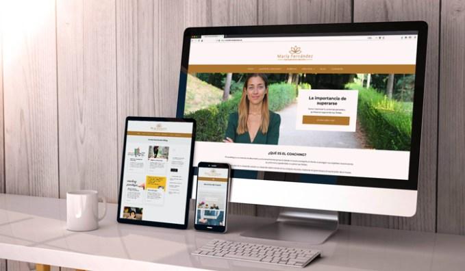 diseño web de coaching