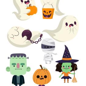Recortables para ardonar tus eventos en Halloween
