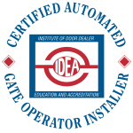 Certified Automated Gate Operator Installer