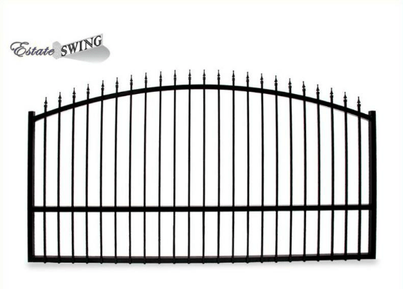 The Estate Swing 14 Foot Long Single Driveway Gate Made in USA