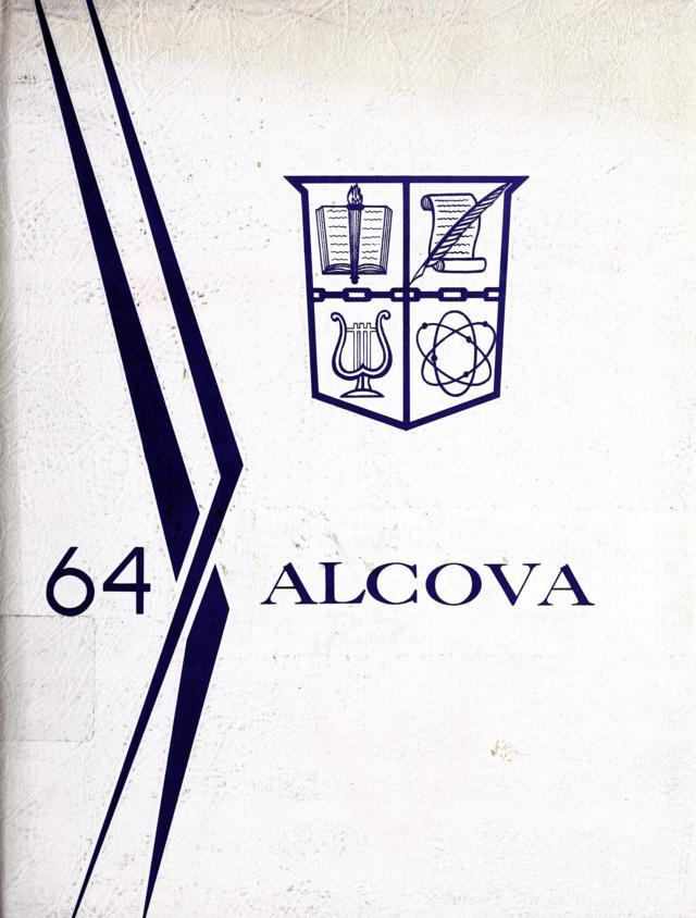 1964 Alcova Yearbook - Alleghany County High School, Virginia