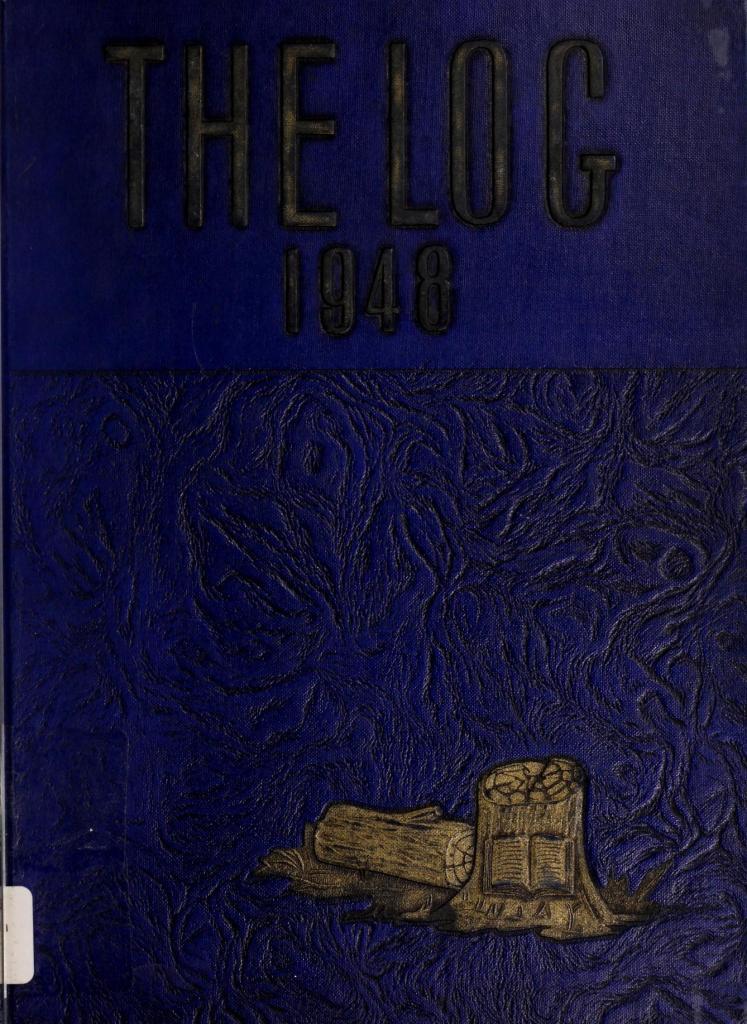 1948 The Log Yearbook, Franklin High School, Franklin, Virginia
