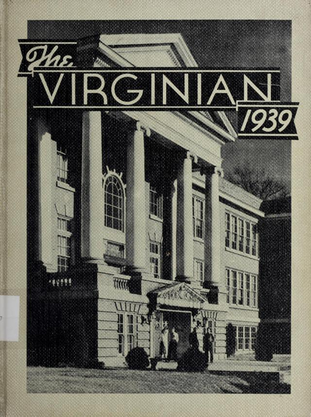 1939 The Virginian Yearbook, Virginia High School, Bristol, Virginia
