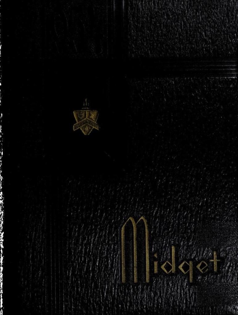 1954 Midget Yearbook of William King High School