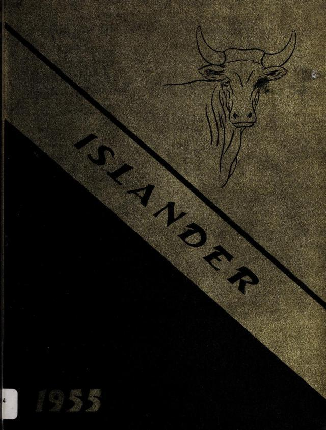 1955 Islander Yearbook, Poquoson High School, Poquoson, Virginia