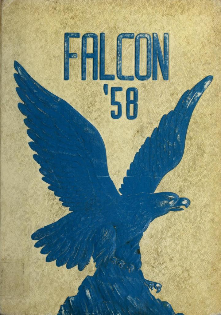 1958 Falcon Yearbook for York High School, Maine