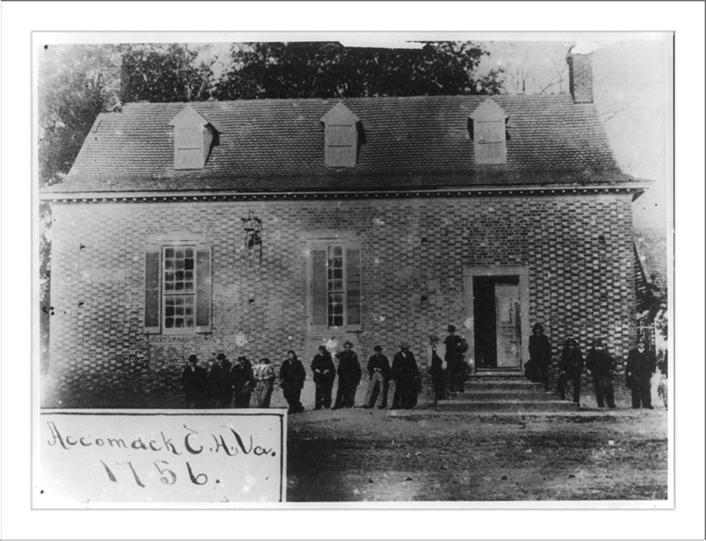 Accomack County Virginia Court House built in 1756
