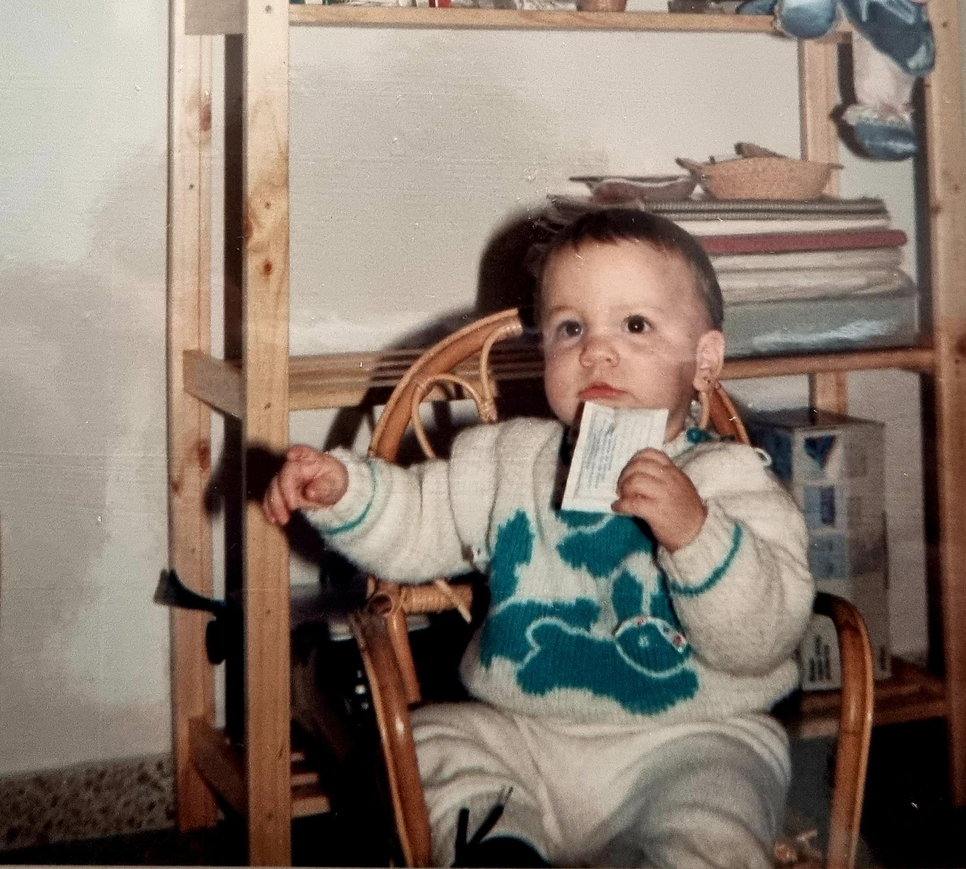 fotografía de mi infancia