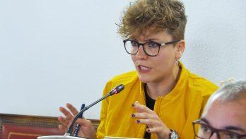 fotografía en el Pleno de la Diputación de Valladolid
