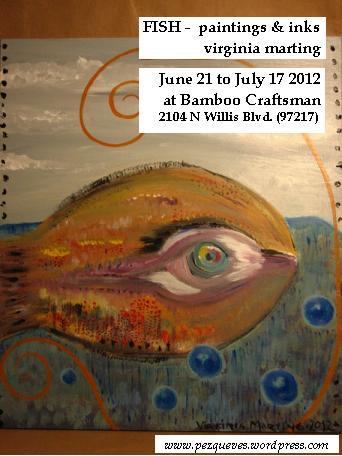 Fish – paintings & inks