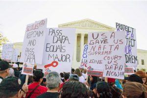 Supreme court demonstrators