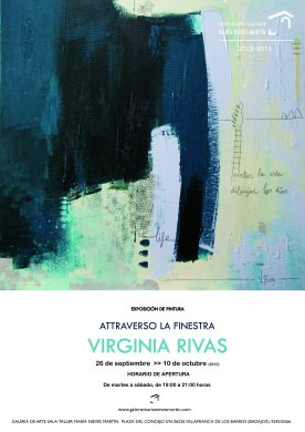 Solo Show · Galería María Nieves Martín · Villafranca de los Barros (Badajoz).