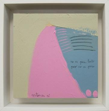Entonces sí · 2016 · 26 x 26 cm /private collection/