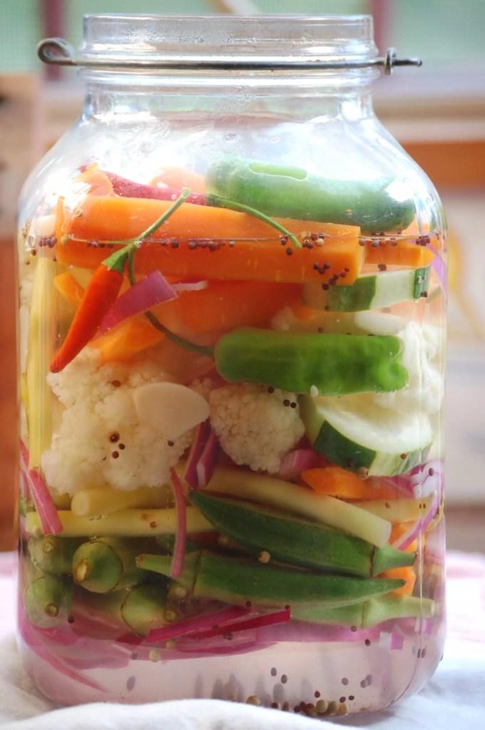 Pickled Vegetables on www.virginiawillis.com