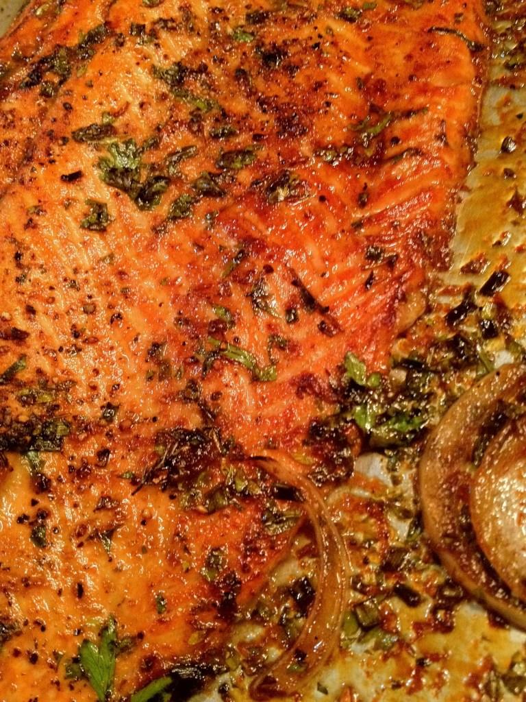 Salmon Recipe on www.virginiawillis.com