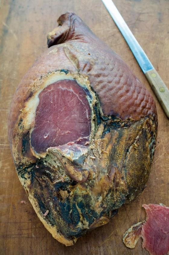 Easter Bourbon Glazed Ham on www.virginiawillis.com