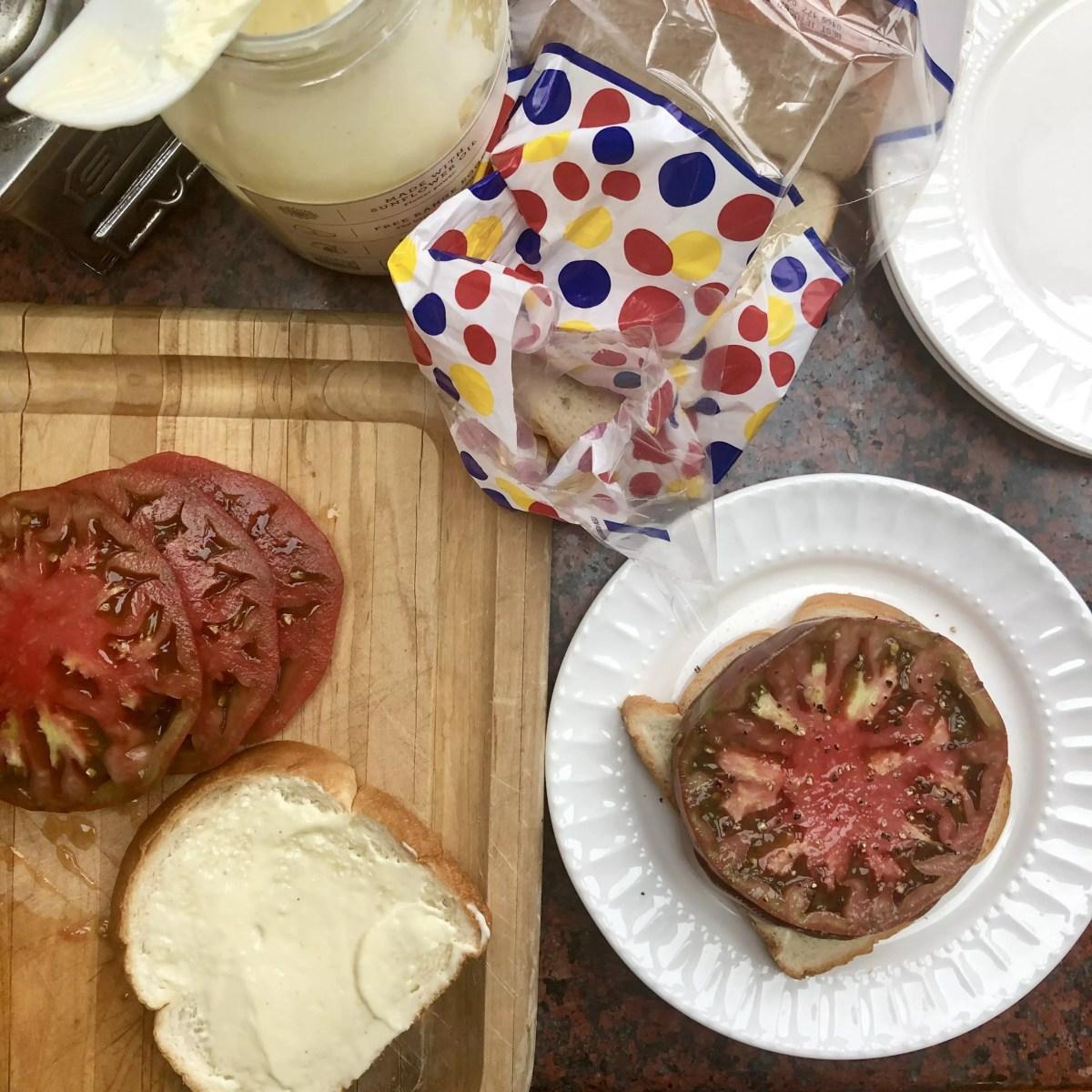 'Mater Sandwich on www.virginiawillis.com