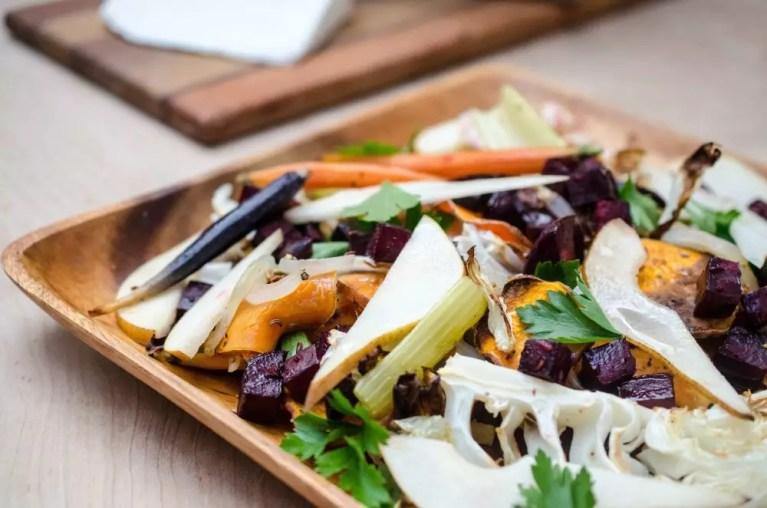 Winter Salad Recipe on www.virginiawillis.com