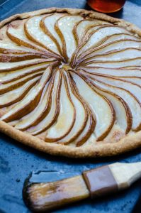 Lesson Learned: Quick and Easy Pear Tart Recipe