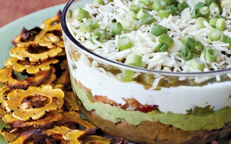 Seven Layer Dip on www.virginiawillis.com