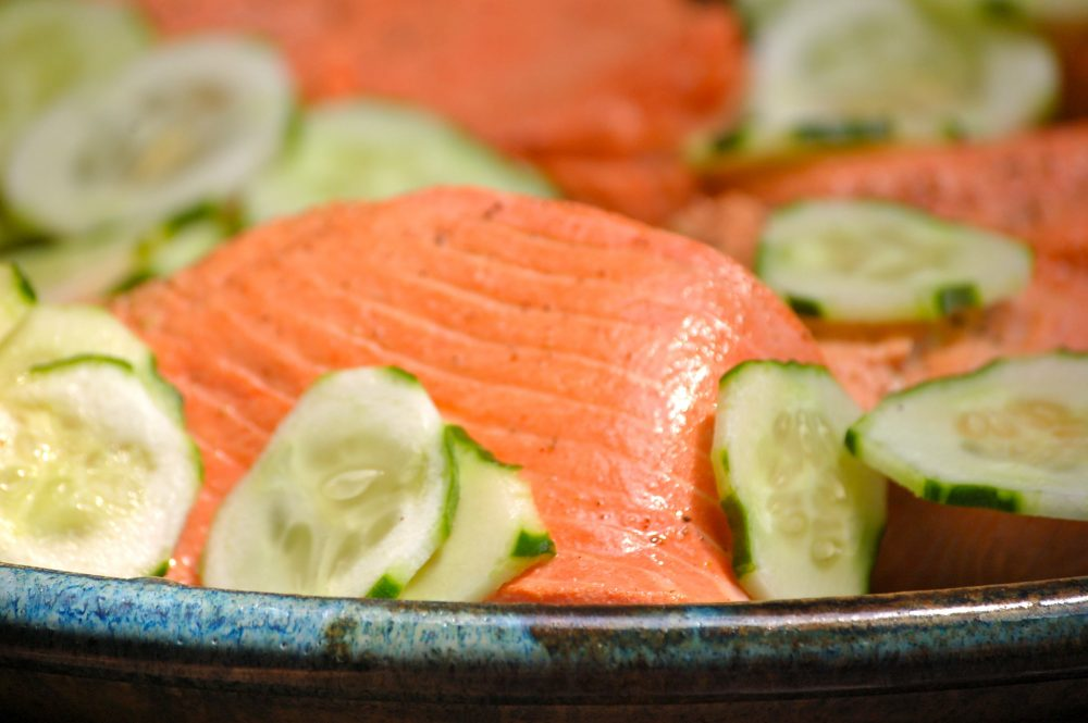 What's in Season: Poached Salmon
