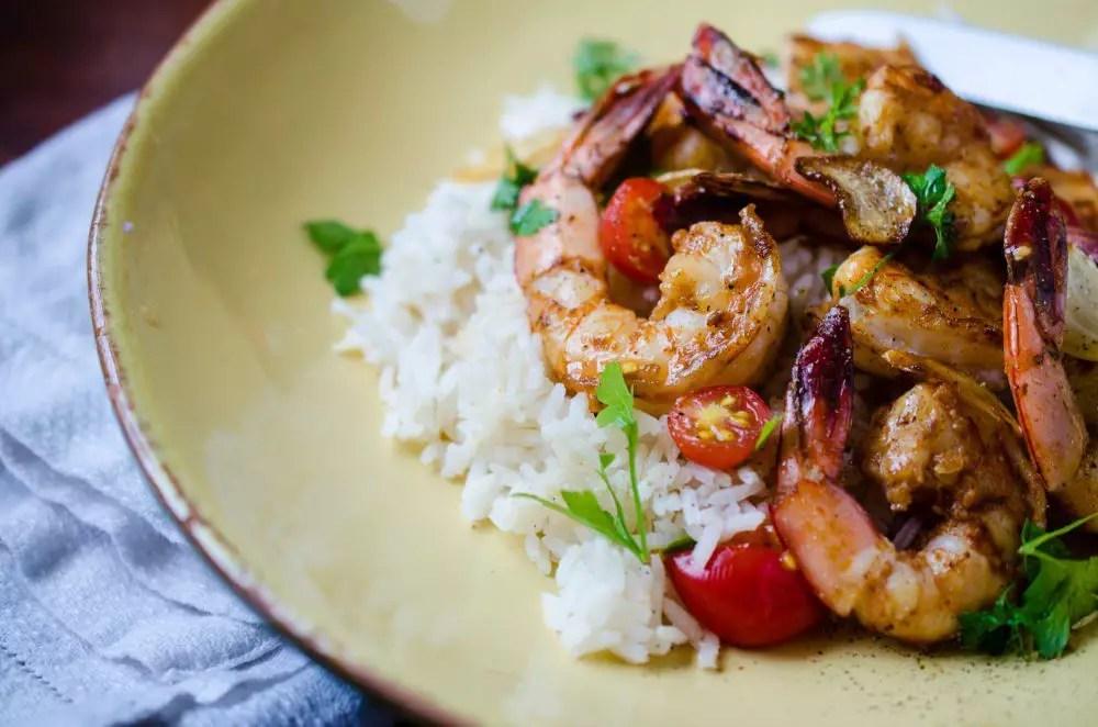 Quick and Easy Garlic Shrimp