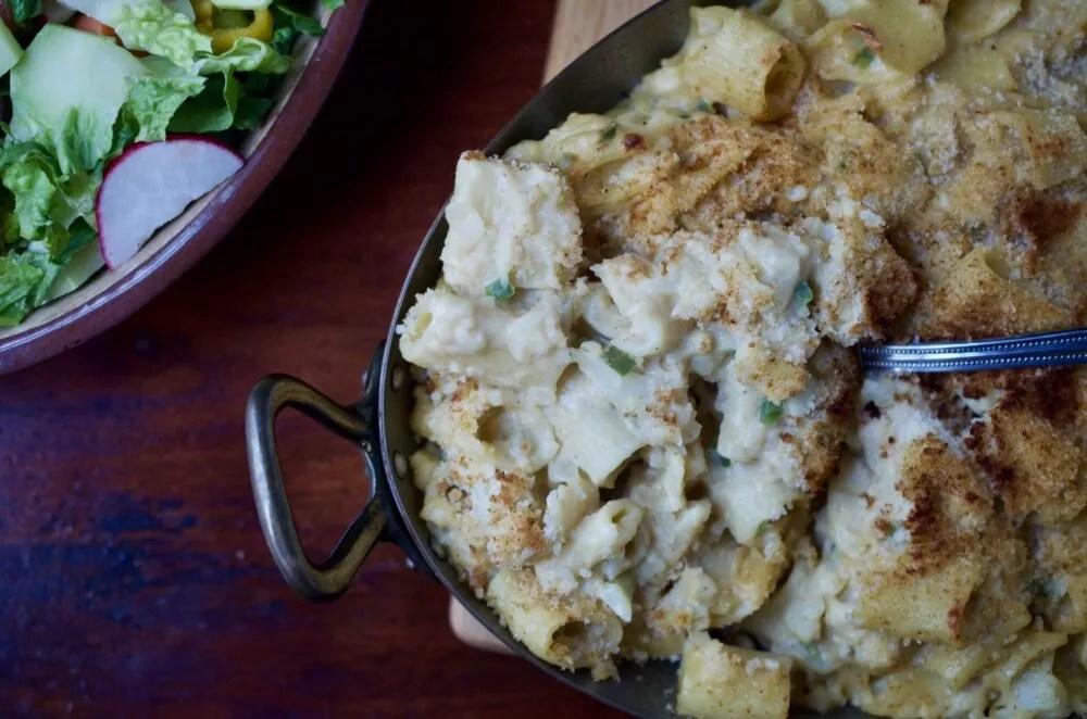 Spicy Cauli-Mac and Cheese