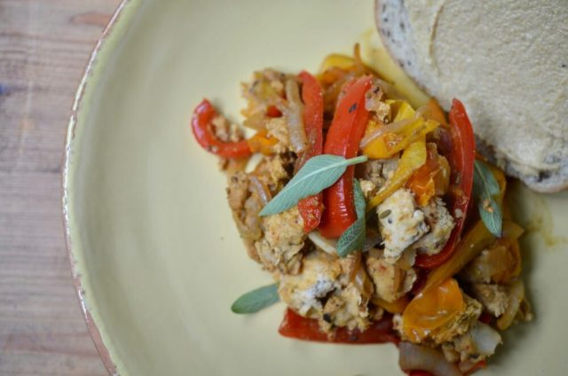 Recipe Makeover Sausage and Peppers