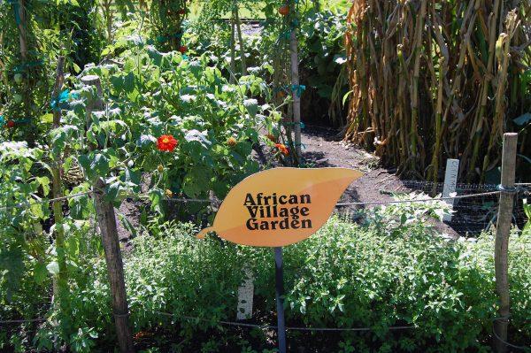 Photo of African Village Garden Sign
